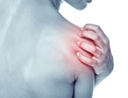 Acute pain in a shoulder at the young women