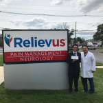Min Dye was a recipient of the pain management clinic Relievus scholarship on Sep 8th 2017