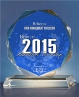 Relievus' pain management physicians were awarded the Best of 2015 Hamilton Township
