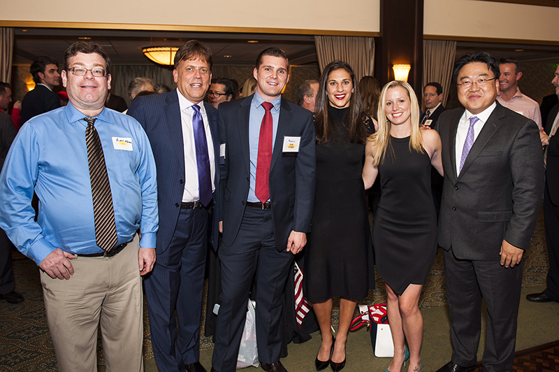 The Relievus team at SJ Magazine event November 2015 - Pain management doctors and starff